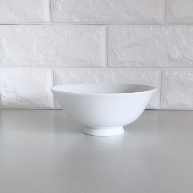 真っ白なご飯茶碗 大 ライスボウル