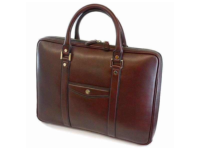 オックスフォード ビジネスバッグ 「ゴールドファイル」 901507 バーガンディ 正面