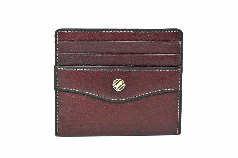 オックスフォード コンパクト財布 「ゴールドファイル」 GP12112 バーガンディ 正面