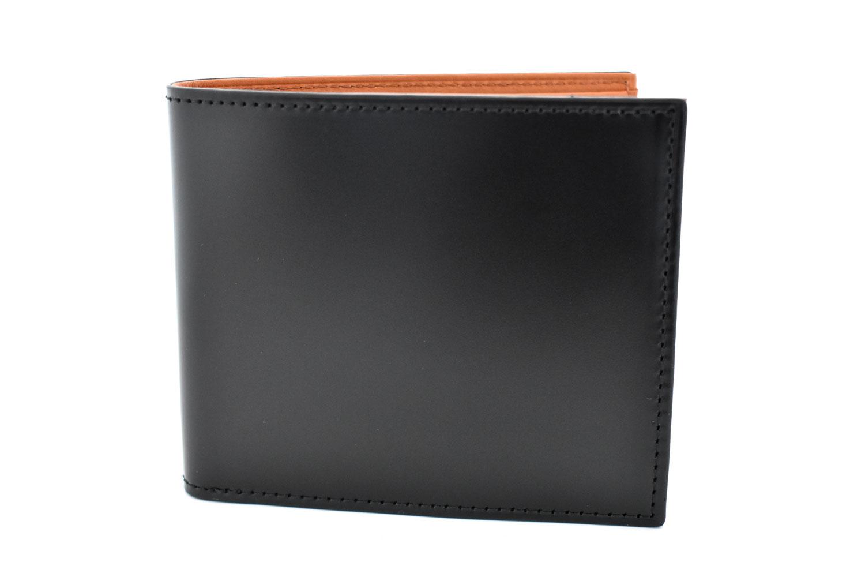 CORDOVAN1957(コードバン1957) 二つ折り財布(小銭入れなし) 「プレリー1957」 NP12318 クロ 正面