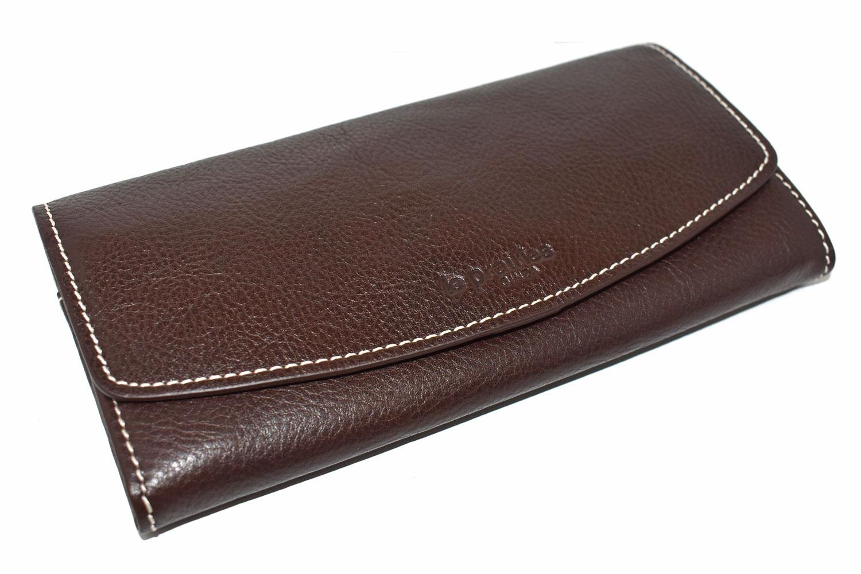 FAV(ファボ) 長財布 「ル・プレリーギンザ 」 NP20015 チョコ 正面