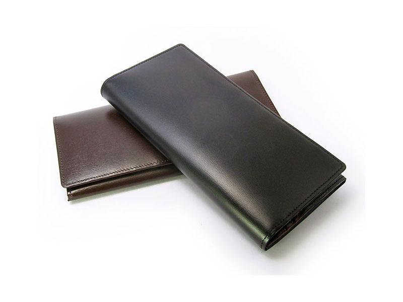 ボックスカーフヴェネチアン 長財布(小銭入れあり) 「プレリーギンザ」 NP56020 イメージ