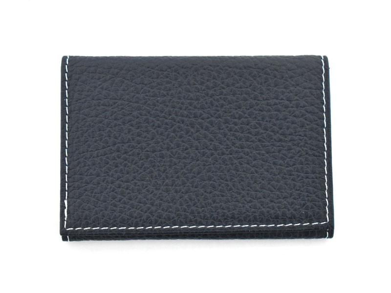PRESSo pique(プレッソ ピケ) コンパクト財布 「プレリーギンザ」 NP70110 ネイビー 正面