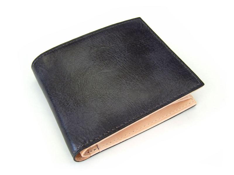 Patine(パティーヌ) 二つ折り財布(小銭入れあり) 「プレリーギンザ」 NP76220 クロ 正面