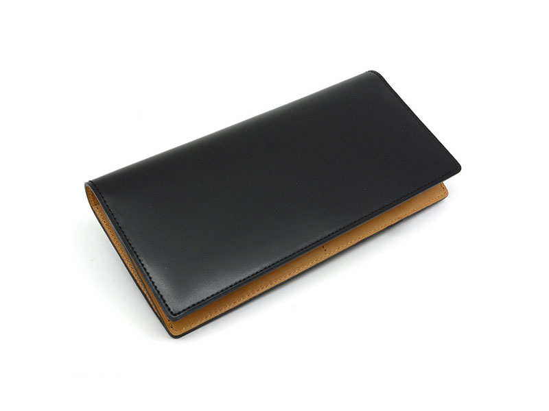 JUWEL Cordovan(ジュエルコードバン)  長財布 「プレリーギンザ」 NPJ1042 クロ 正面