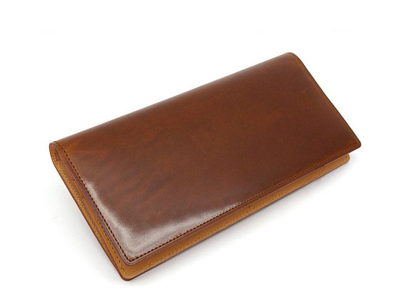 PRAIRE ジュエルコードバン 長財布 の外装