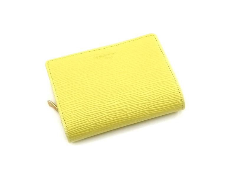 Refined(リファイン)二つ折り財布 (小銭入あり)「ル・プレリーギンザ」 NPL5312 イエロー 正面