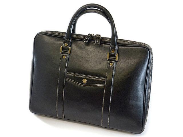 オックスフォード ビジネスバッグ 「ゴールドファイル」 901507 ブラック 正面