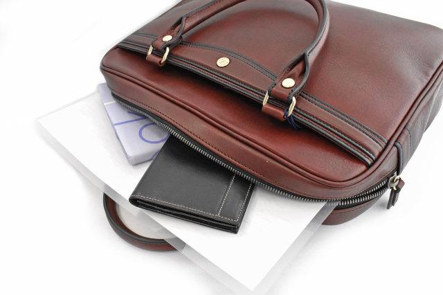 オックスフォード レザーメンズビジネスバッグ A4ジャストサイズ 「ゴールドファイル」 901513 イメージ画像