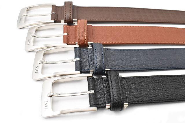 牛革 ダックスチェック型押しベルト 「ダックス」 DB26280 商品特徴