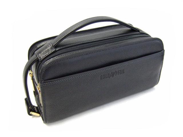オリジン Wファスナーセカンドバッグ 「ゴールドファイル」 GA18035