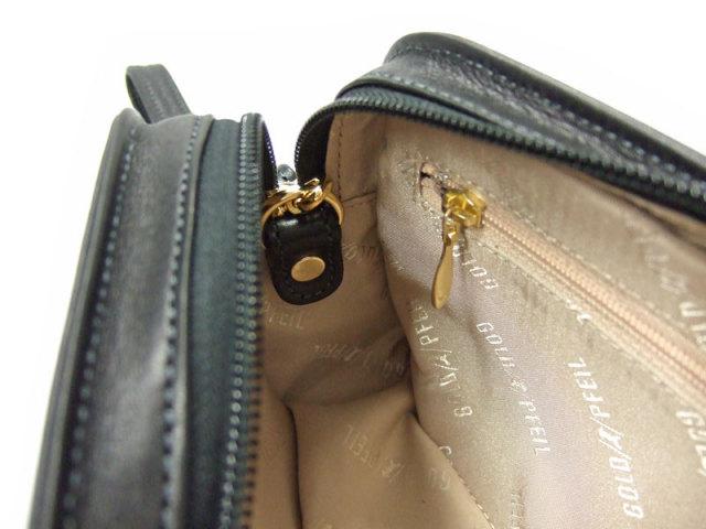オリジン セカンドバッグ 「ゴールドファイル」 GA18125 内側ストラップ取付箇所