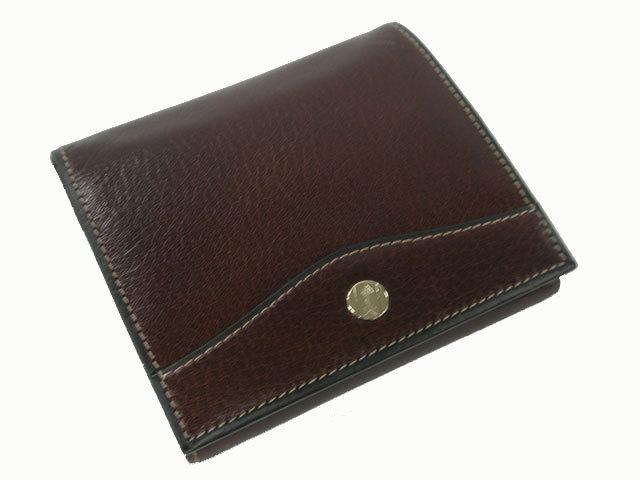 オックスフォード 二つ折り財布(小銭入れあり) ゴールドファイル