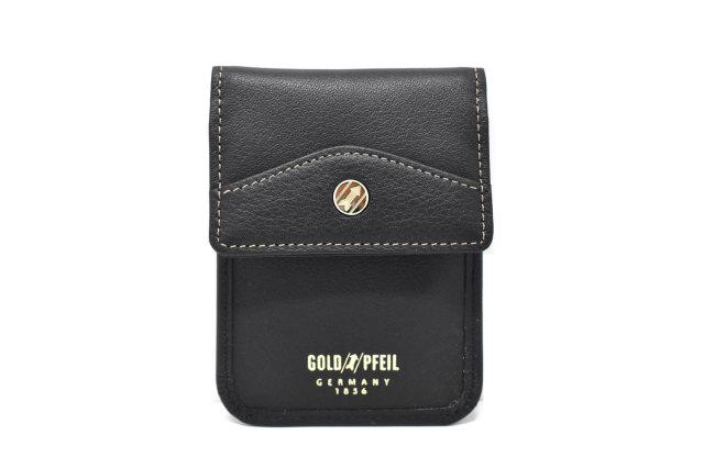 オックスフォード 盗難防止キーケース 「ゴールドファイル」 GP12310 ブラック 正面
