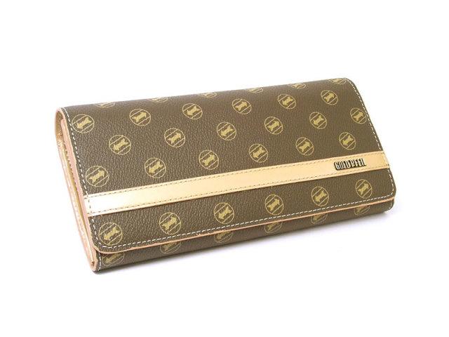 Signature(シグネチャー) 長財布 「ゴールドファイル」 GP34013 シャンパンゴールド 正面