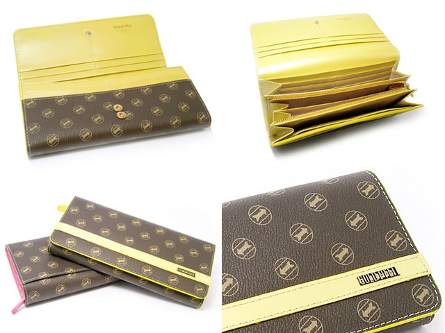シグネチャー 長財布 「ゴールドファイル」 GP34013 4コマ