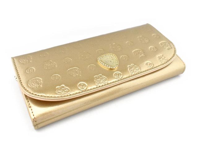 モノグラム 長財布 「ゴールドファイル」 GP36015 ゴールド 正面