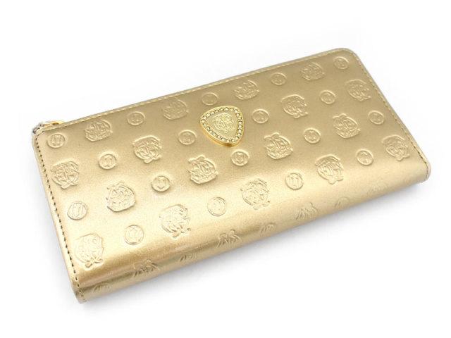 モノグラム L字ファスナー長財布  「ゴールドファイル」 GP36113 ゴールド 正面