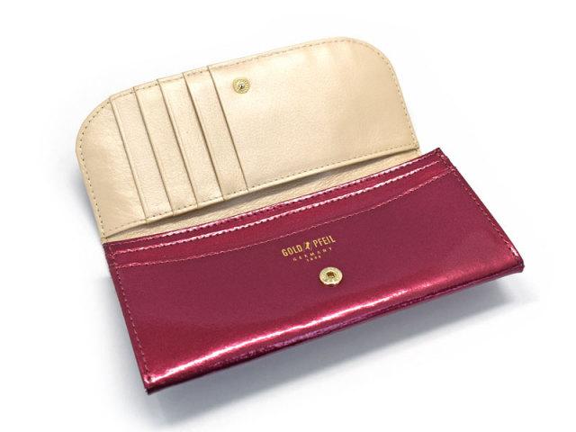 モノグラム コンパクト長財布 「ゴールドファイル」 GP36210 内作り
