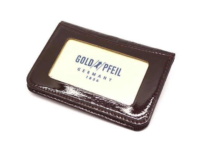 GP36465 モノグラム パスケース 「ゴールドファイル」 バーガンディ 裏面