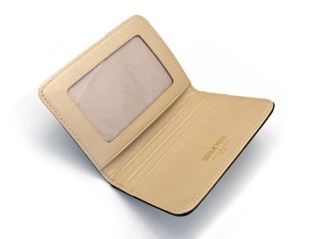 モノグラム 二つ折り財布パスケース  「ゴールドファイル」 GP36465 内作り