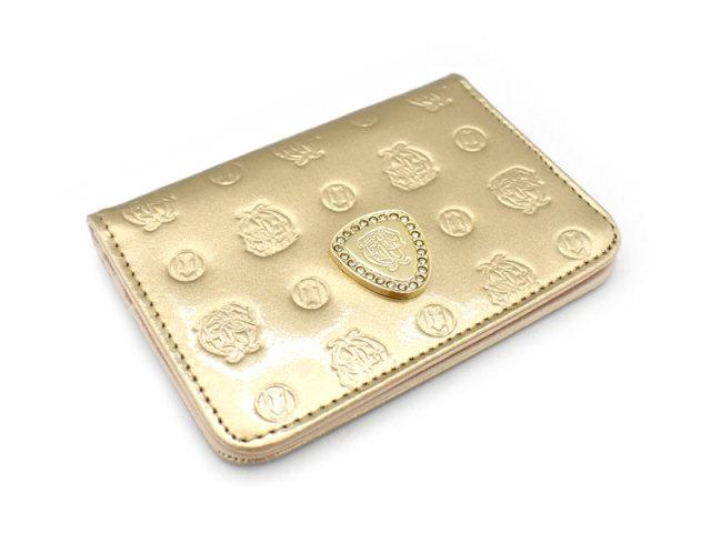 モノグラム パスケース 「ゴールドファイル」 GP36465 ゴールド 正面