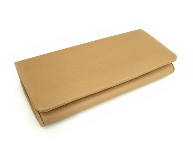 Natural(ナチュラル) 長財布 「ゴールドファイル」 GP54016 オーク 正面