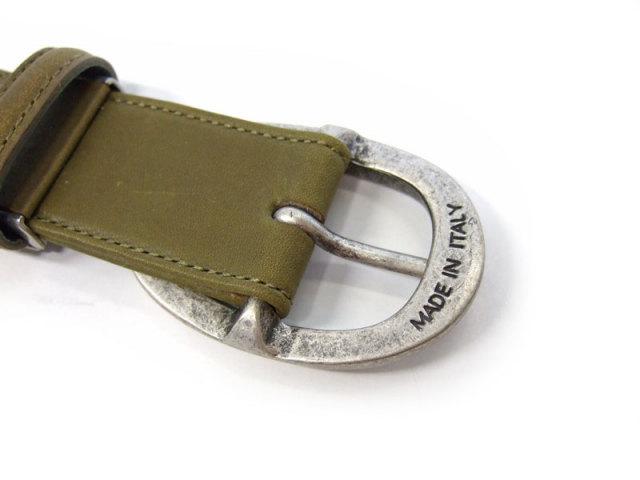 クラシコ イタリアンバックル ベルト 30mm幅 ピン式 「プレリーギンザ」 NB11710 特徴
