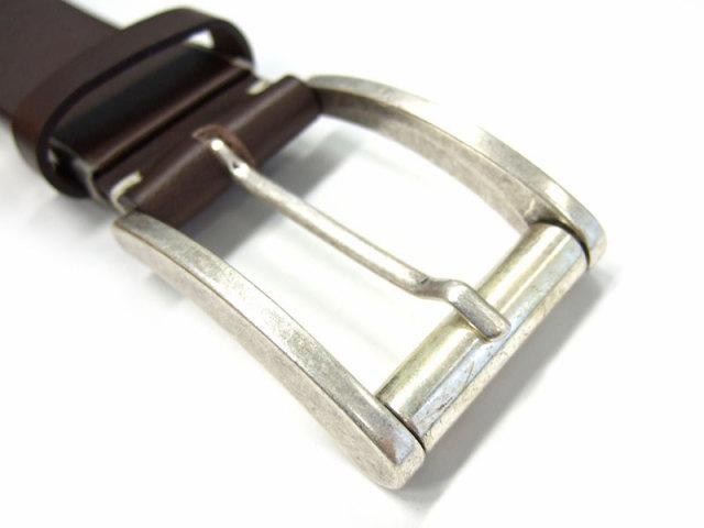 クラシコ イタリアンバックル ベルト 35mm幅 ピン式 「プレリーギンザ」 NB11990 特徴