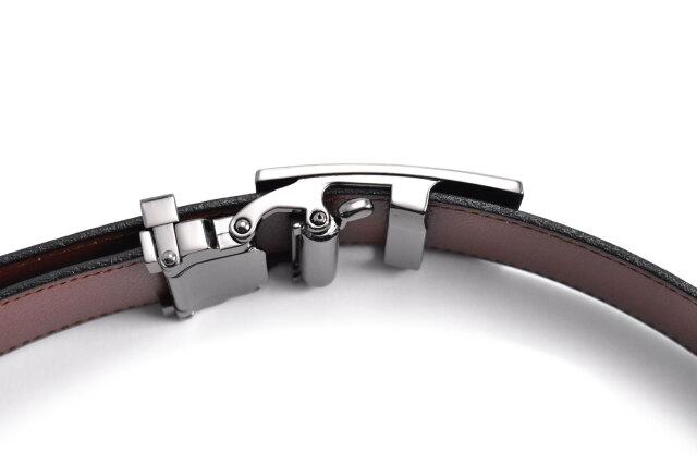 イージーアジャストバックル簡単着脱ベルト ビジネスベルト 「プレリーギンザ」 NB17260 商品特徴