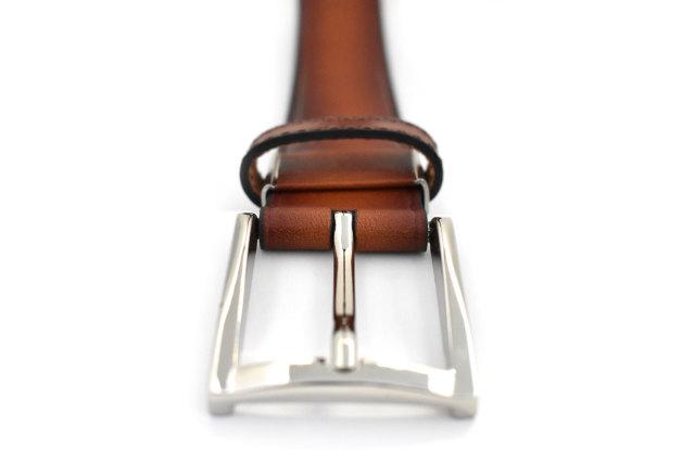 一枚革シャドー加工ベルト 「プレリーギンザ」 NB18680 商品特徴