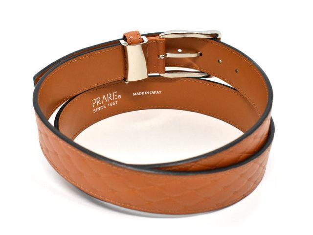 Quilt Design Belt (キルトデザインベルト) 「プレリー1957」 NBZ1000 チャ 裏面