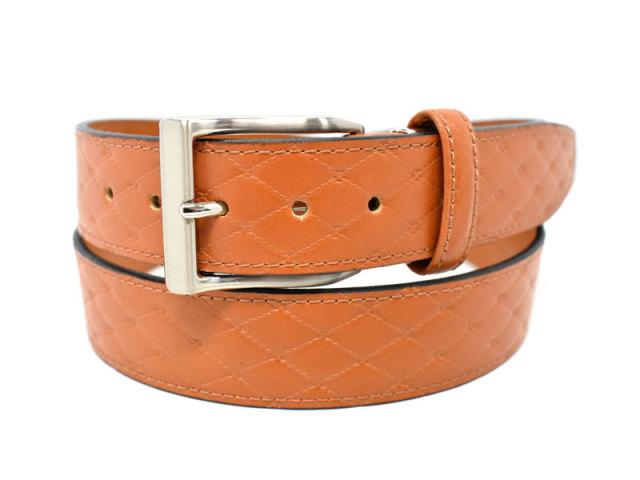 Quilt Design Belt (キルトデザインベルト) 「プレリー1957」 NBZ1000 チャ 正面