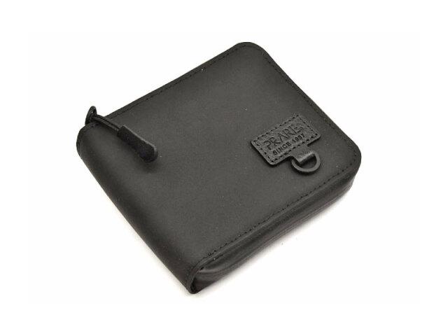 ACTIVE(アクティブ) アウトドアラウンドファスナー二つ折り財布 「プレリー1957」 NP00210 ブラック 正面