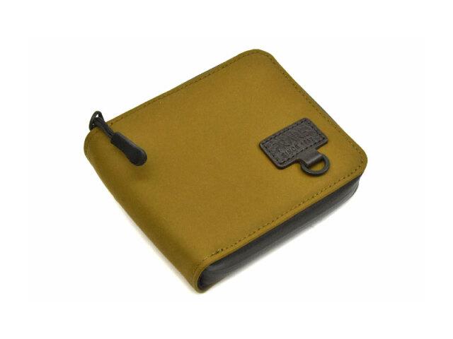 ACTIVE(アクティブ) アウトドアラウンドファスナー二つ折り財布 「プレリー1957」 NP00210 ベージュ 正面