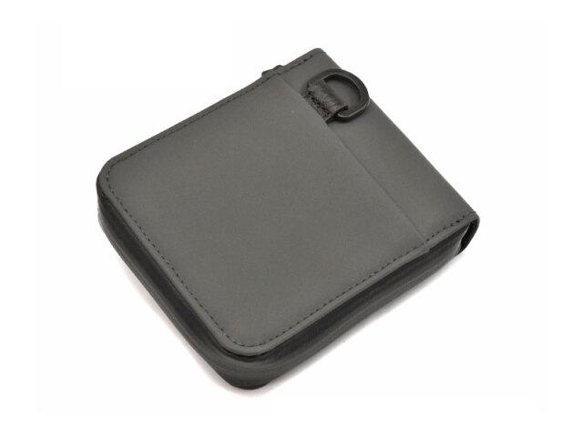 ACTIVE(アクティブ) アウトドアラウンドファスナー二つ折り財布 「プレリー1957」 NP00210 グレー 裏面