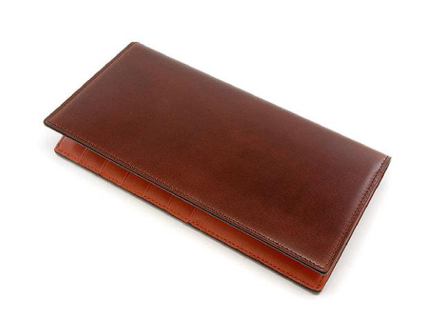 Cordovan Color(コードバンカラー) 長財布 「プレリー1957」 NP01123 チョコ 正面