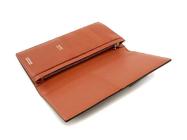 Cordovan Color(コードバンカラー) 長財布 「プレリー1957」 NP01123 チョコ 内作り