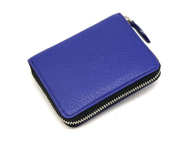 il nesso(イルネッソ) ラウンドファスナー財布(小銭入れあり) 「プレリー1957」 NP02312 ブルー 正面