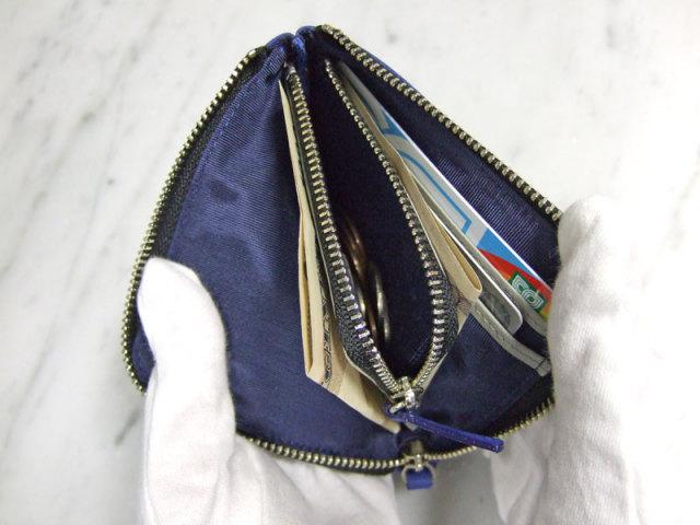 il nesso(イルネッソ) L字ファスナーコンパクト財布(小銭入れ) 「プレリー1957」 NP02575 使用画像