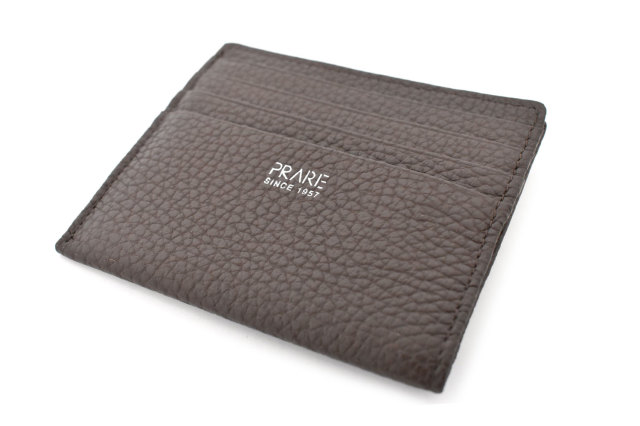 JOY (ジョイ) ミニ財布(カードコイン型) 「プレリー1957」 NP03760 チョコ 正面