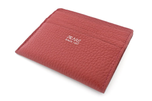 JOY (ジョイ) ミニ財布(カードコイン型) 「プレリー1957」 NP03760 ワイン 正面