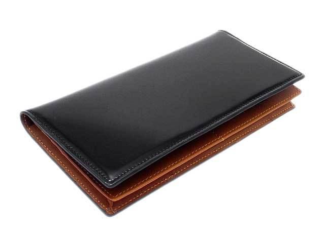 NP07020 コードバン 長財布(通しマチ) 「プレリー1957」  クロ