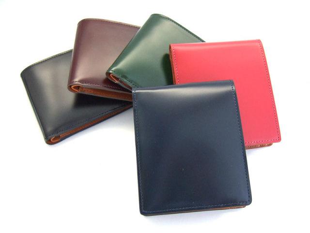 コードバン 二つ折り財布(小銭入れあり) 「プレリー1957」 NP07218 イメージ画像