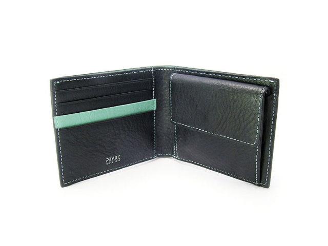 ピープル 二つ折り財布(小銭入れあり) 「プレリー1957」 NP10111 ブルー 内作り