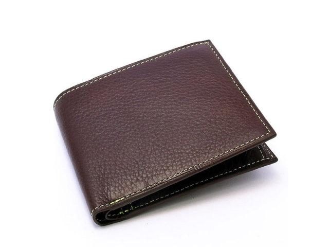 ピープル 二つ折り財布(小銭入れあり) 「プレリー1957」 NP10111 グリーン 正面