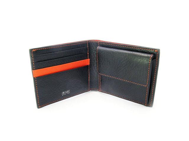 ピープル 二つ折り財布(小銭入れあり) 「プレリー1957」 NP10111 オレンジ 内作り