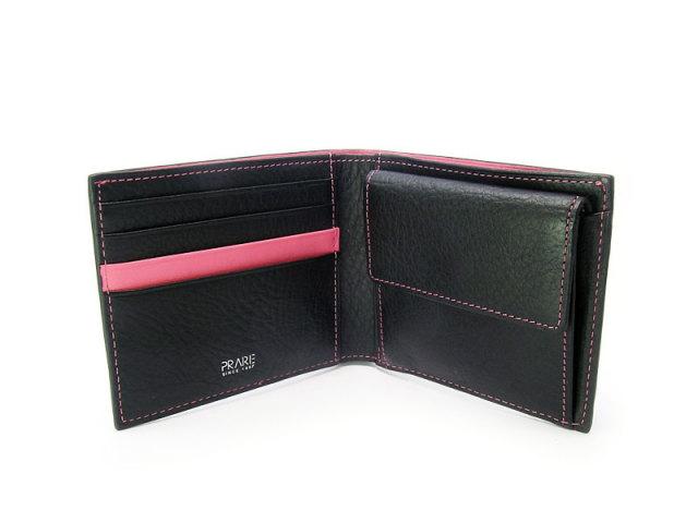 ピープル 二つ折り財布(小銭入れあり) 「プレリー1957」 NP10111 ピンク 内作り