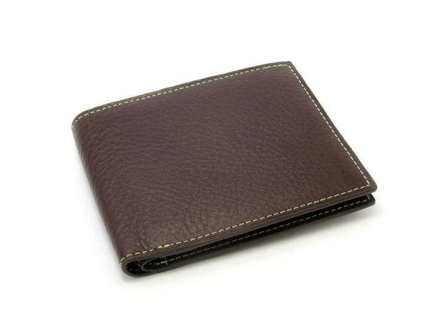 ピープル 二つ折り財布(小銭入れなし) 「プレリー1957」 NP10295 グリーン 正面