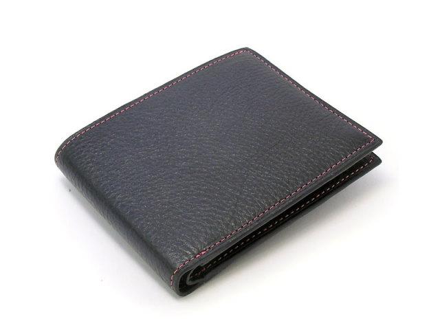 ピープル 二つ折り財布(小銭入れなし) 「プレリー1957」 NP10295 ピンク 正面